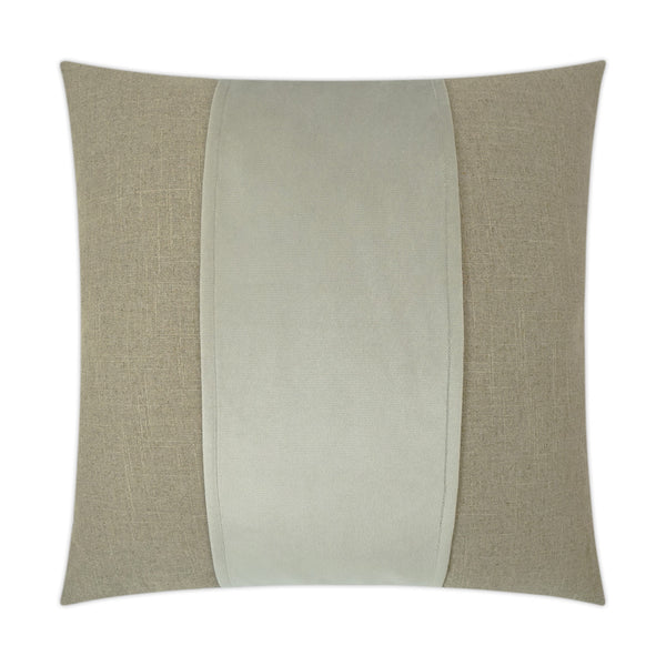 Line in the Sand Euro Pillow - Tan