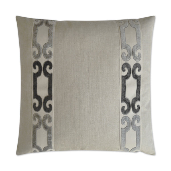Natural Filigree Pillow