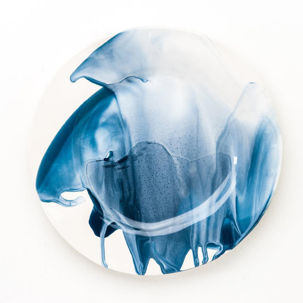 Splash Ceramic Dinner Plate