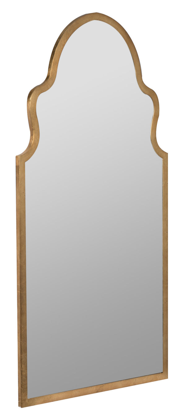 Leila Gold Leaf Mirror