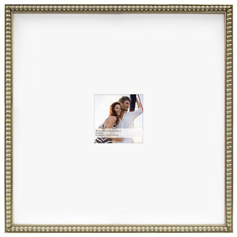 Beaded Frame - Champaign Gold