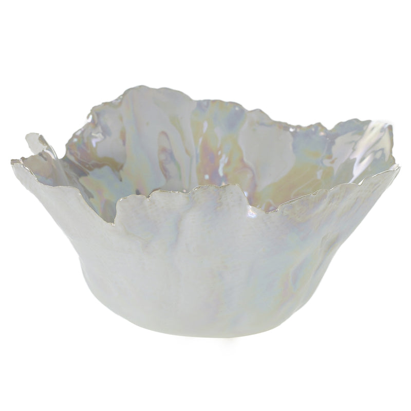 White Glazed Bowl