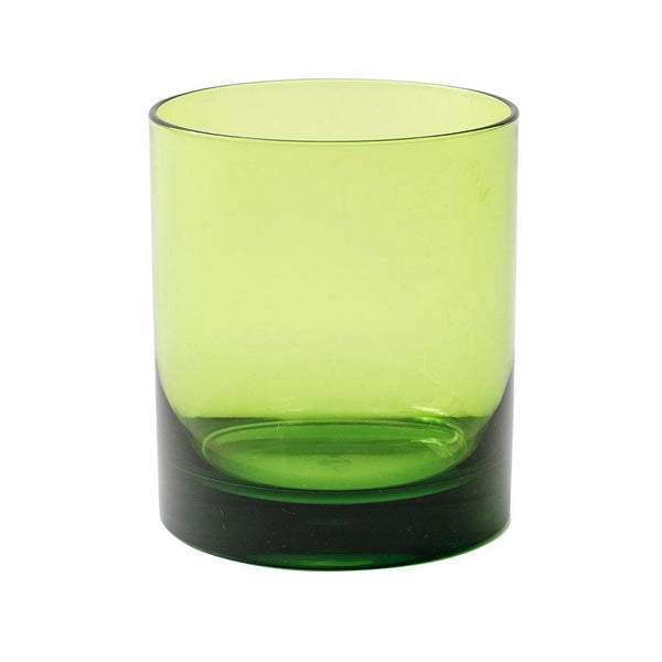 Acrylic Highball Glass in Green - 1 Each