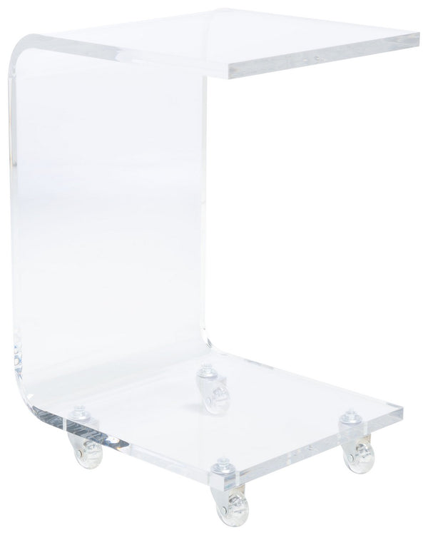 Aero Acrylic Bar Cart