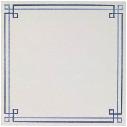 Washable Link Blue Placemats - Set of 4