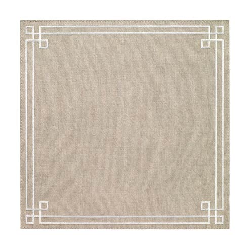 Washable Link Oatmeal  Placemats - Set of 4