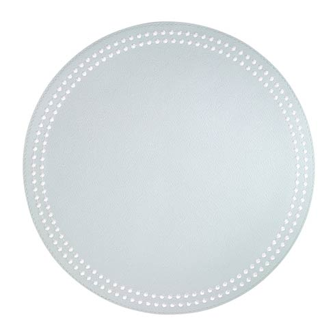 Celadon Pearls White Placemats - Set of 4