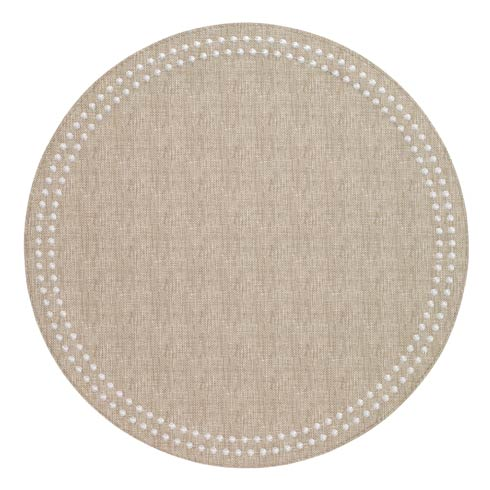 Beige Pearls Washable Placemats - Set of 4