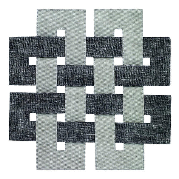 Celtic Smoke Gray Easy Care Placemats
