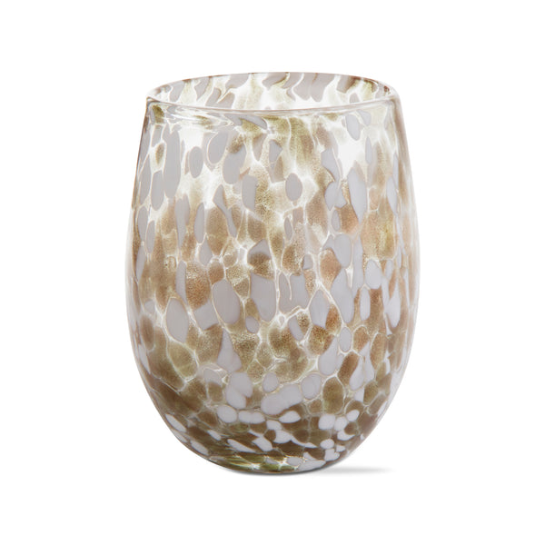 The Speckled Wine Glass (Gold)