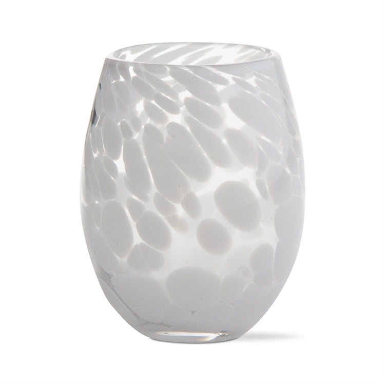 The Speckled Wine Glass (White)