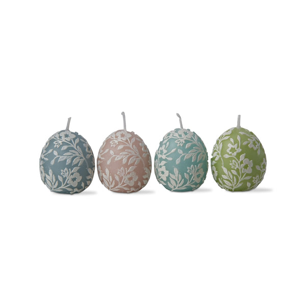Easter Egg Candles (Set of 4)