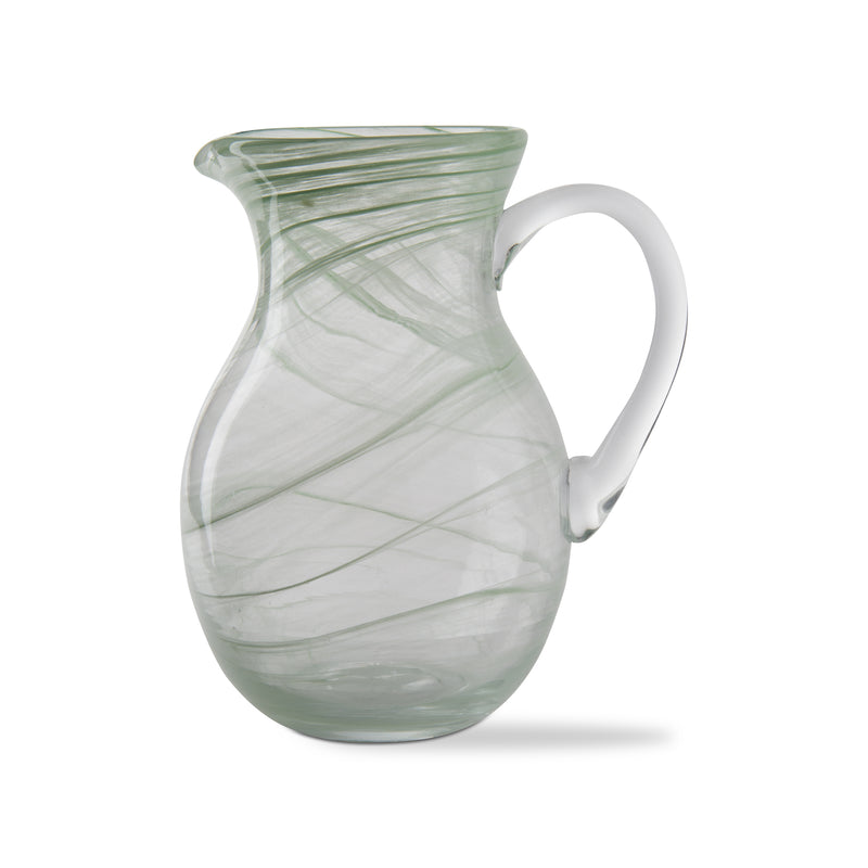 The Lime Swirl Pitcher