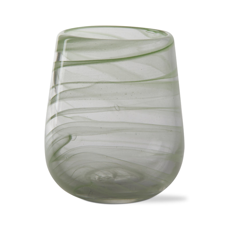 The Lime Swirl Wine Glass