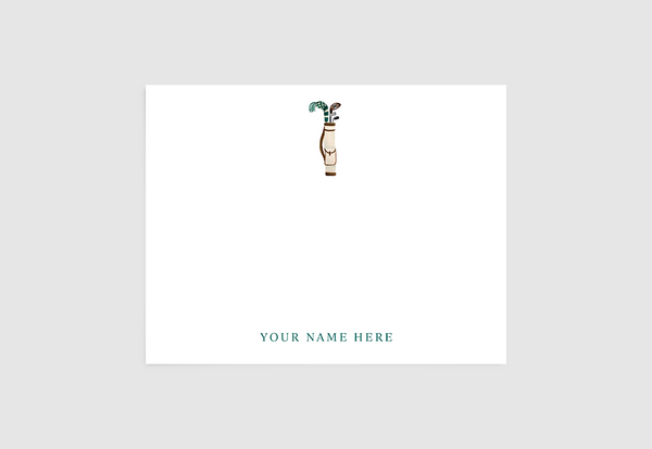 Golf Bag Stationery