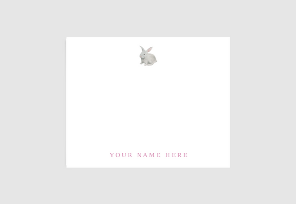 Bunny Stationery