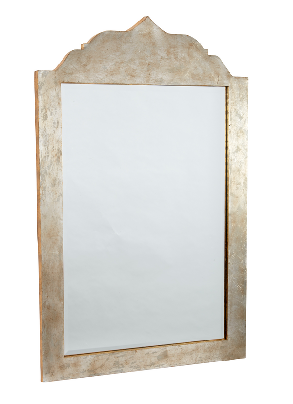 Gold and Silver Leaf Mirror