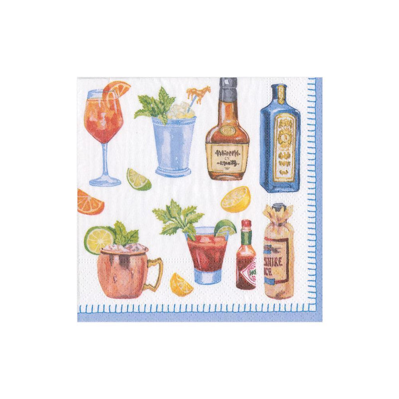 Happy Hour Paper Cocktail Napkins - 20 Per Package