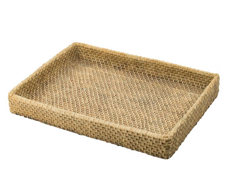 Natural Woven Decorative Tray