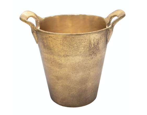 Antique Brass Ice Bucket