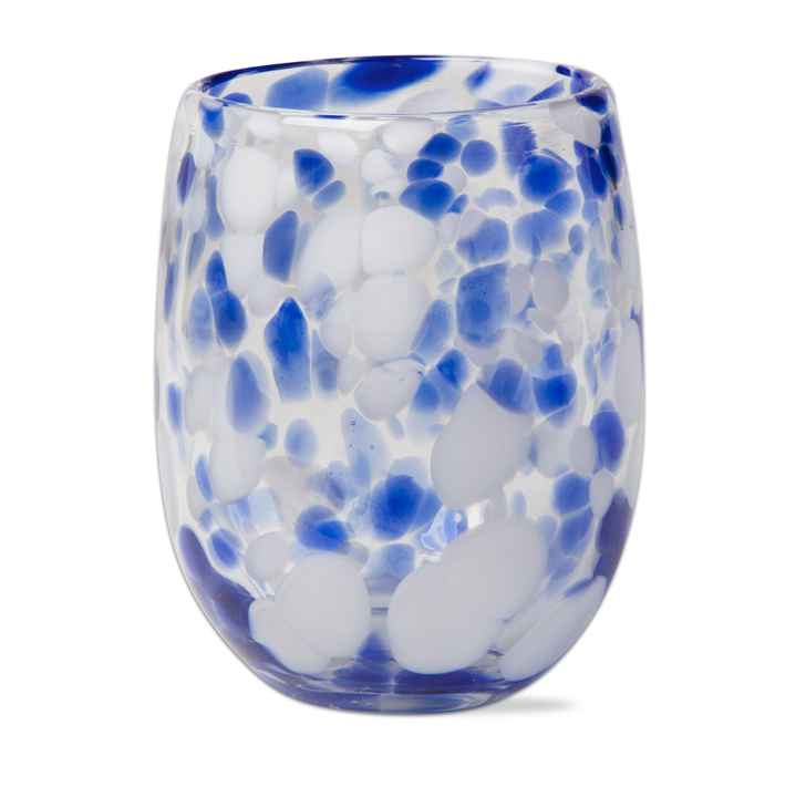 The Speckled Wine Glass (Royal Blue)