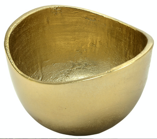 Gold Textured Bowl