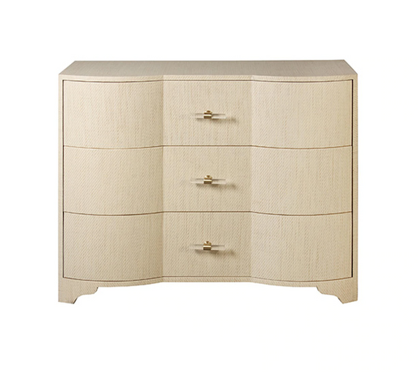 Plymouth Natural Grasscloth Chest