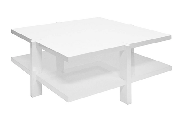 Medford White Coffee Table