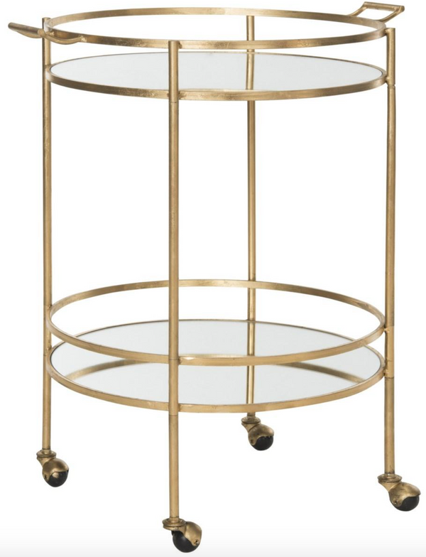 Lawson Lacquer Bar Cart