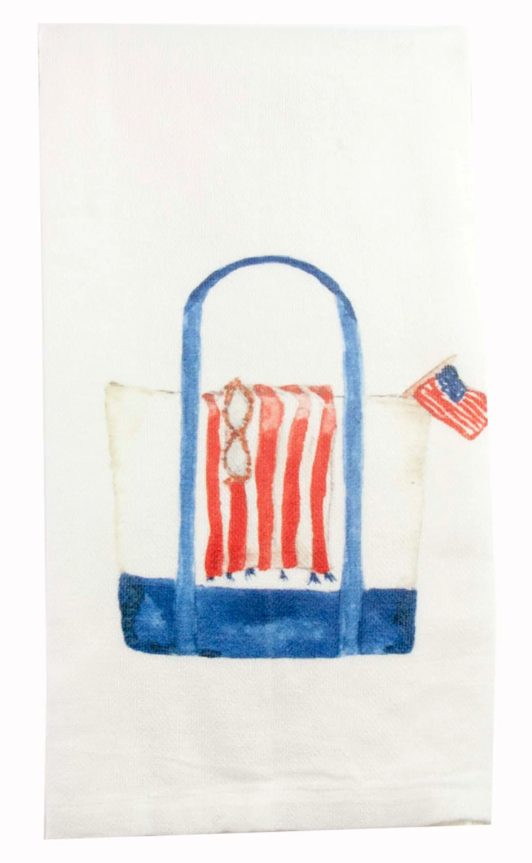 Beach Bag Dishtowel