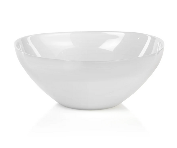 White Glass Decorative Bowl