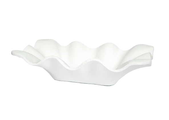 Decorative White Bowl