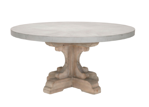 Chamberlain Concrete Top Dining Table