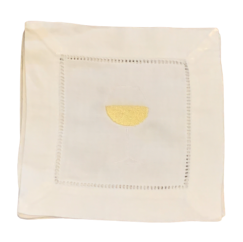 White Wine Cocktail Napkins