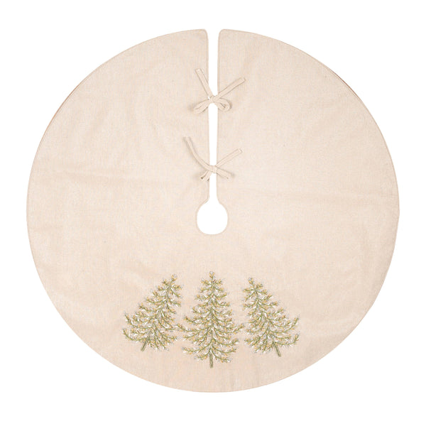 Hand Crafted Tree Skirt
