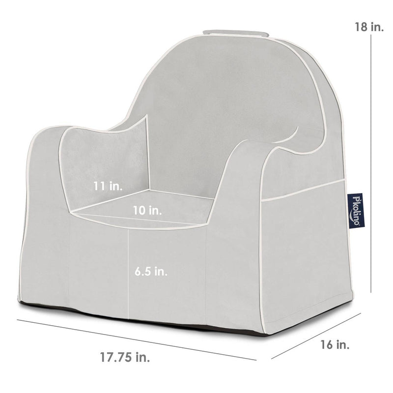 Little Reader Chair - Grey
