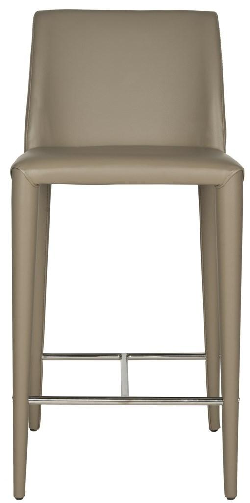 Michael Taupe Counter Stool (Set of Two)