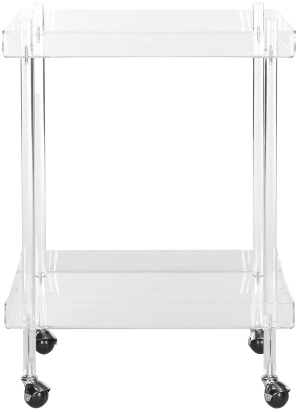 Ali Acrylic Bar Cart