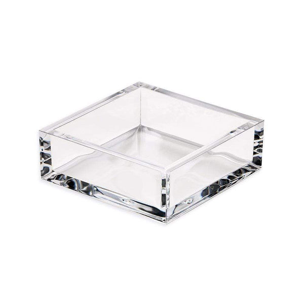 Acrylic Cocktail Napkin Holder in Crystal Clear - 1 Each