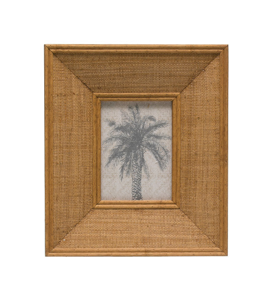 Raffia Photo Frame