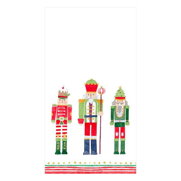 March of the Nutcrackers Paper Guest Towel Napkins (15 Per Package)
