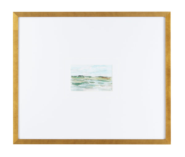 Gold Framed Watercolor Landscapes