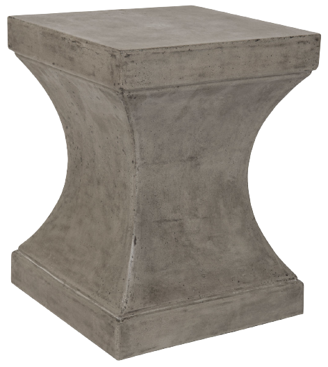 Kirby Concrete Side Table - Ash