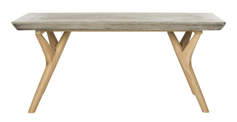 Concrete Indoor-Outdoor Dining Table