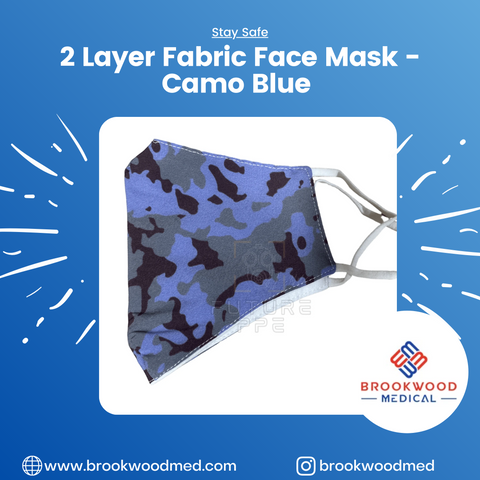 2 Layer Fabric Face Mask