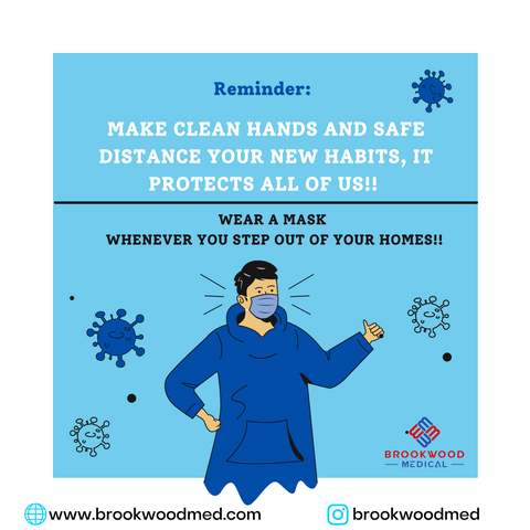 Wear a mask whenever you are out of home