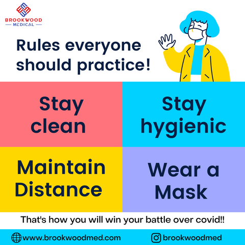 Stay Clean And Maintain Distance
