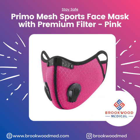 Primo Mesh Sports Facemask With Premium Filter