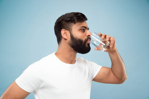 Drinking too much water can also be dangerous