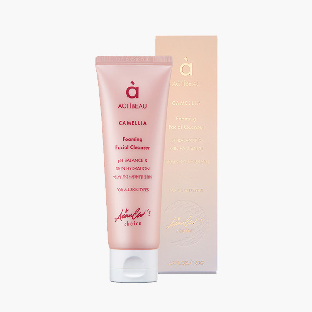 Camellia Foaming Facial Cleanser